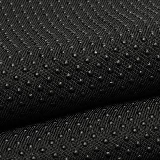 Antiskid baby shoe soles Grip fabric Black (per 10cm)