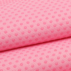 Antiskid baby shoe soles Grip fabric Pink (per 10cm)