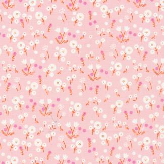 Coton Bio imprimé Stay Gold Marigold Blossom Cloud9