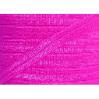 Biais élastique lingerie Oekotex 15mm rose fushia (au mètre)