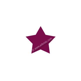 KAM Snaps T5 - Burgundy B34 - 20 STAR sets