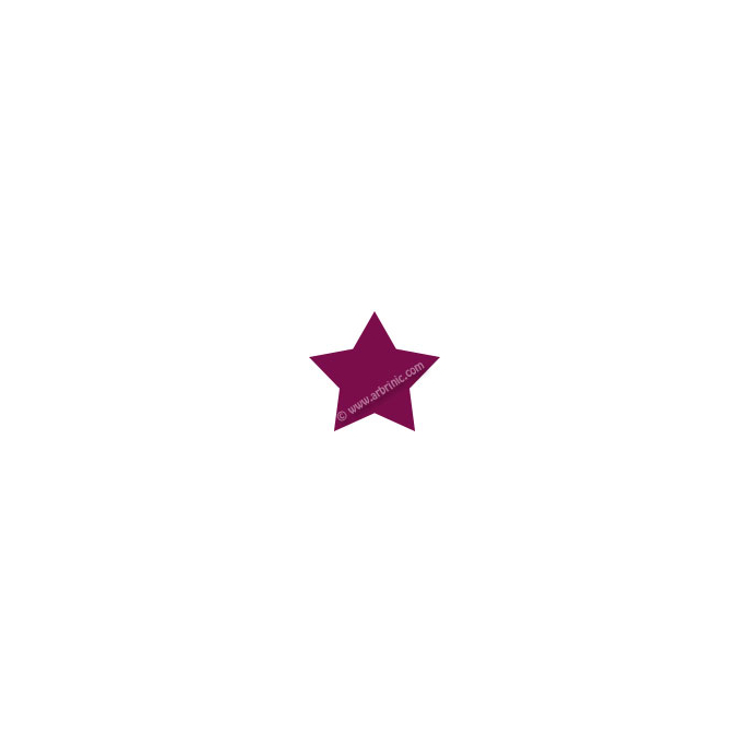KAM Snaps T5 - Burgundy B34 - 20 STAR sets