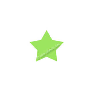 Pressions KAM T5 - Vert Lime B50 - 20 jeux ETOILES