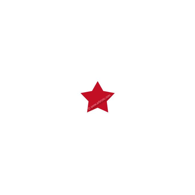 KAM Snaps T5 - Dark Red B54 - 20 STAR sets