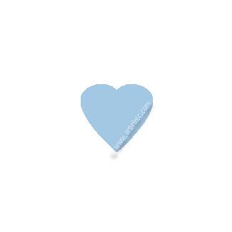 KAM Snaps T5 - Light Blue B20 - 20 HEART sets