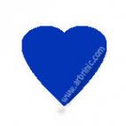 Pressions KAM T5 - Bleu roi B16 - 20 jeux COEURS