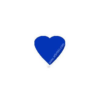 KAM Snaps T5 - Saturn blue B16 - 20 HEART sets