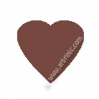 KAM Snaps T5 - Chocolate B26 - 20 HEART sets