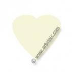KAM Snaps T5 - Natural B37 - 20 HEART sets