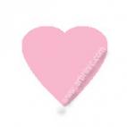 KAM Snaps T5 - Light Pink B18 - 20 HEART sets