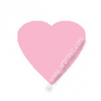 Pressions KAM T5 - Rose clair B18 - 20 jeux COEURS