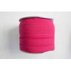 Fold Over Elastic 1 inch Fuchsia pink (100m roll)