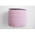 Fold Over Elastic 1 inch Old Pink (100m roll)