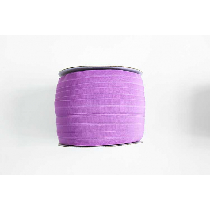 Fold Over Elastic 1 inch Violine (100m roll)