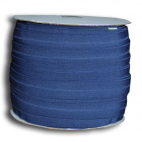 Fold Over Elastic 1 inch Navy blue (100m roll)
