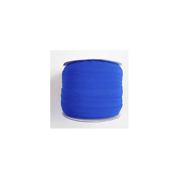 Fold Over Elastic 1 inch Royal blue (100m roll)