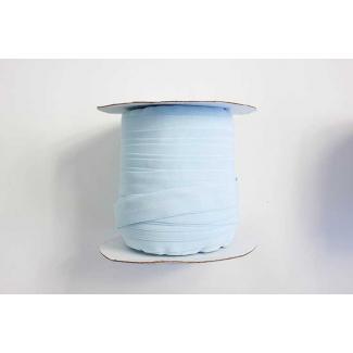 Fold Over Elastic 1 inch Light blue (100m roll)