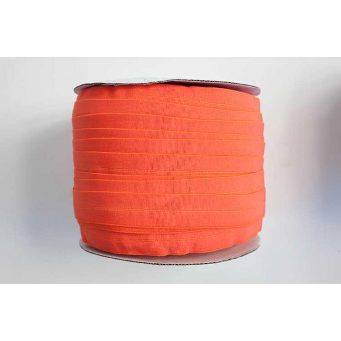 Biais élastique 2.5cm Orange (Bobine 100m)