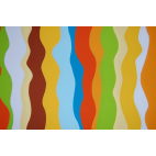 Minky - Ribbon Orange - Robert Kaufman (per meter)