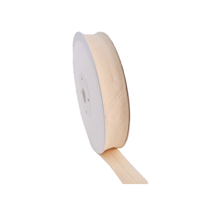 Single Fold Bias Binding 30mm Blanc (25m roll)