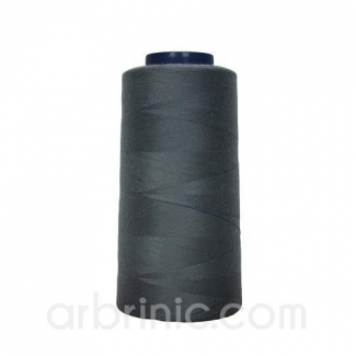 Polyester Serger and sewing Thread Cone (2743m) Slate Grey