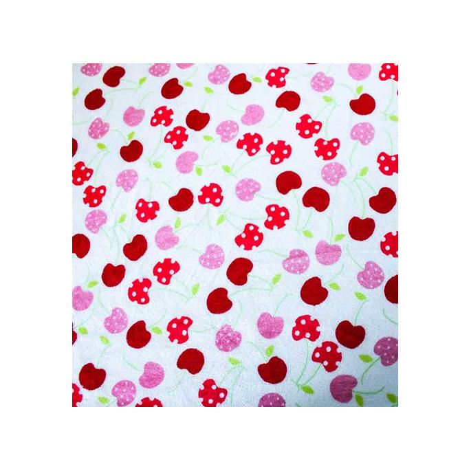 Minky - Cherries - Robert Kaufman (per meter)