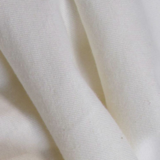 White organic cotton PUL