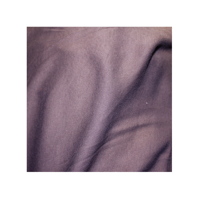 Organic cotton interlock Dark lilac