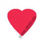 KAM Snaps T5 - Fushia Pink B33 - 20 HEART sets