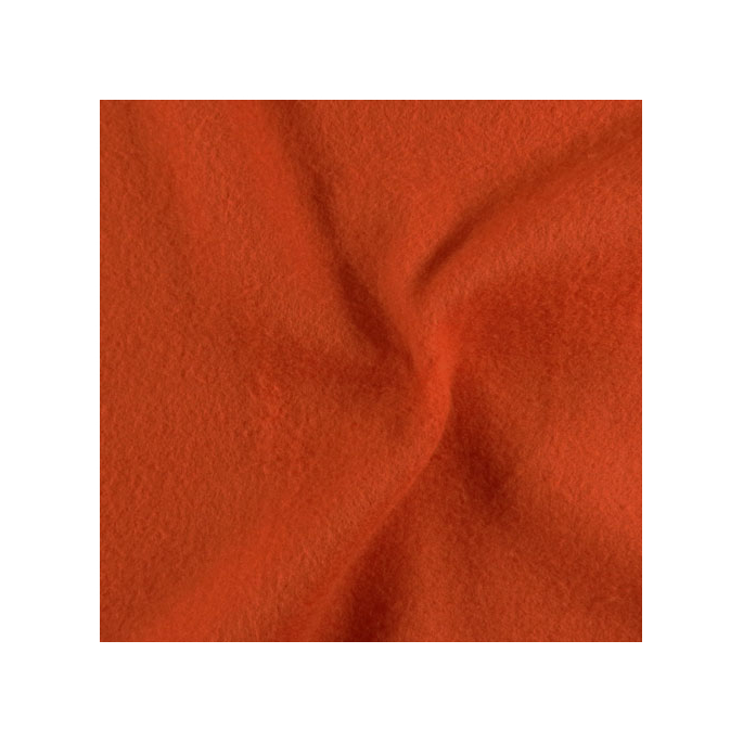 Microfleece Oekotex Dark Orange
