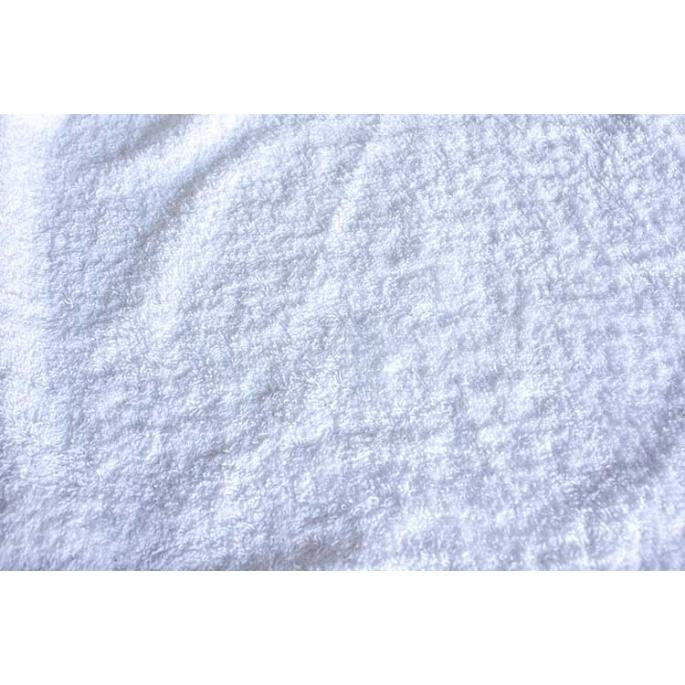 Cotton Terry Oekotex Width 160cm White (per meter)