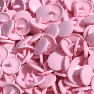KAM Snaps SIZE 16 - Pink B18 - 20 sets