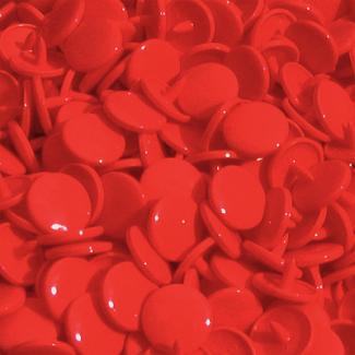 Pressions KAM T3 - Rouge B38 - 100 jeux RONDS