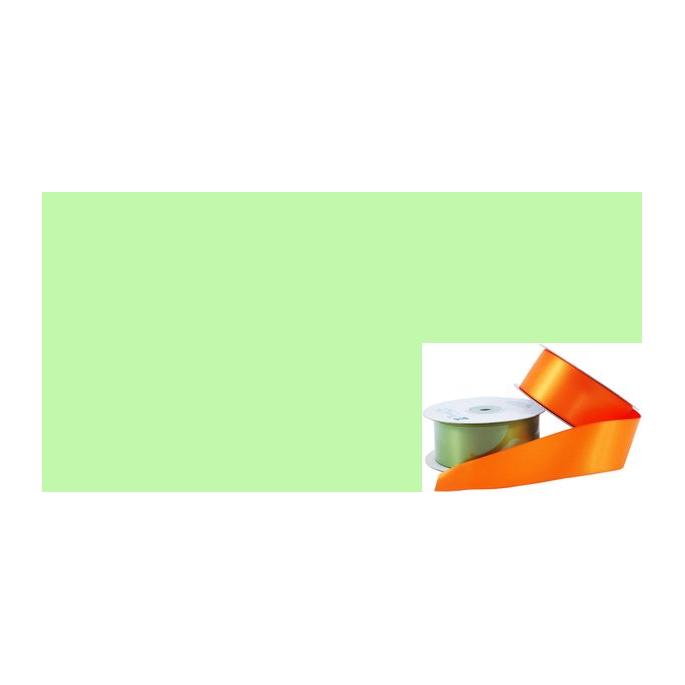 Satin Ribbon 38mm Pastel Green (20m roll)