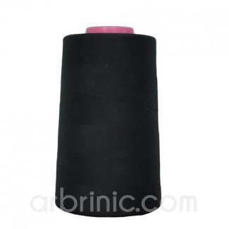 Cône fil polyester Noir (4573m)