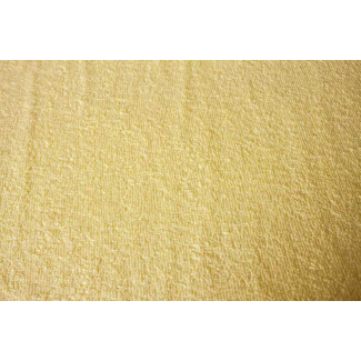 Cotton Terry Oekotex Butter yellow