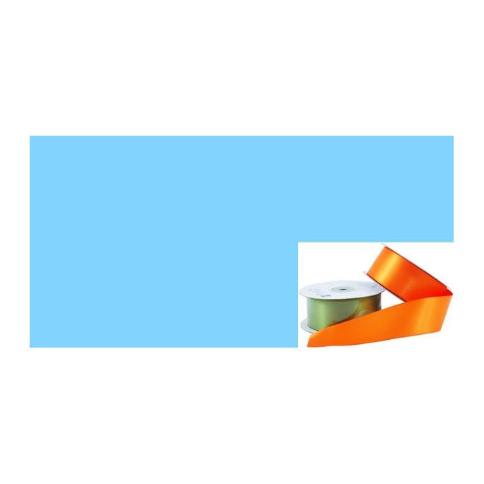 Ruban Satin 38mm Bleu Clair (rouleau 20m)