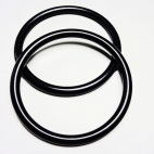 Sling Rings Black Size M (1 pair)
