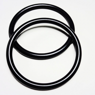 Sling Rings Black Size M (1 pair)