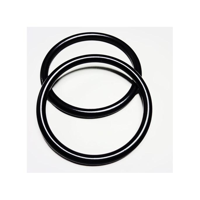 Anneaux de portage Noir Taille M (1 paire)