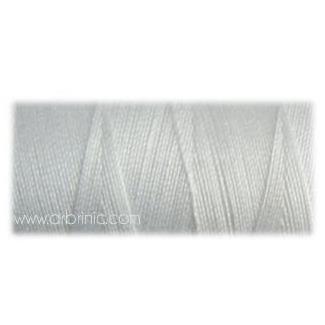 Fil polyester QA 500m Couleur 101 Blanc