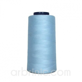 Polyester Serger and sewing Thread Cone (2743m) Light Blue