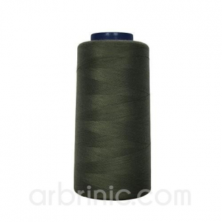 Cône fil polyester Vert Kaki (2743m)