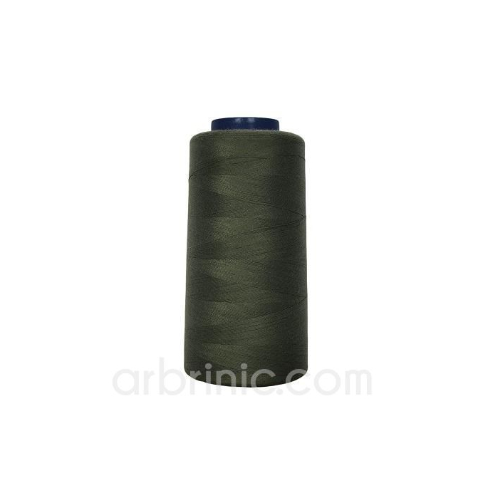 Polyester Serger and sewing Thread Cone (2743m) Kaki