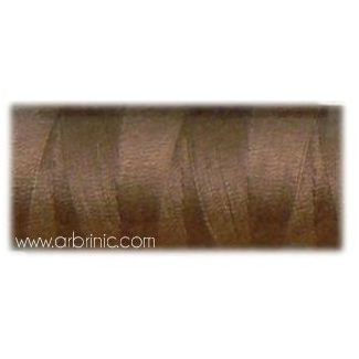 Fil polyester QA 500m Couleur 380 Marron