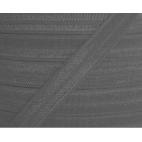 Biais élastique lingerie Oekotex 15mm gris (bobine 25m)