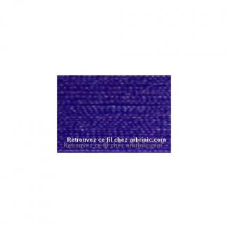 Fil polyester Mettler 200m Couleur n°0013 Bleu Vénitien