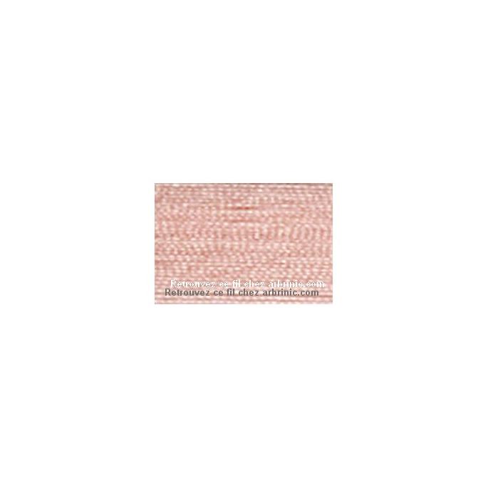 Fil polyester Mettler 200m Couleur n°0075 Rose Glacé