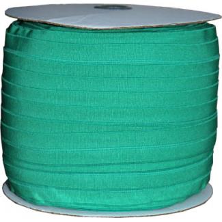 Biais élastique 2.5cm Vert trèfle (1m)