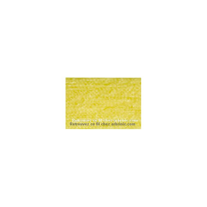 Fil polyester Mettler 200m Couleur n°0113 Bouton d'Or